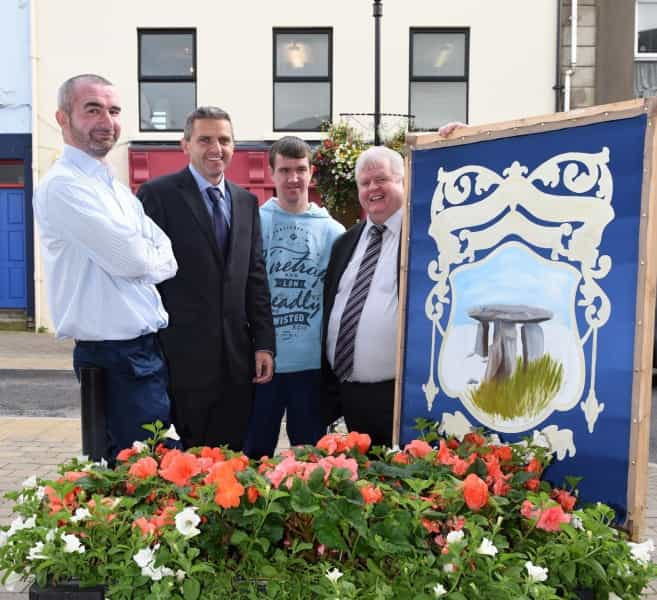 Traditional skills project paints a brighter future for Ballymoney