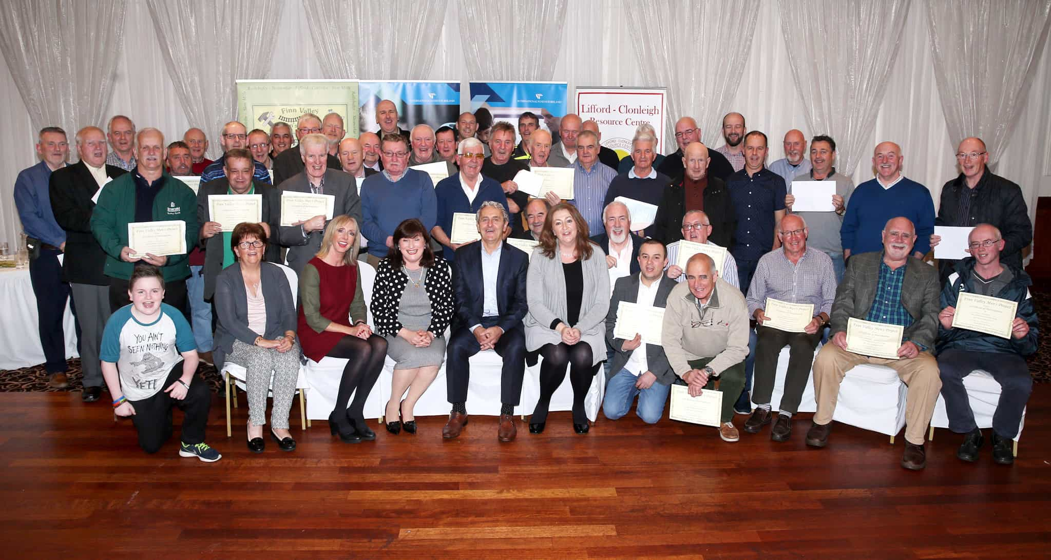 Celebrations for Finn Valley cross-border and cross-community men's project