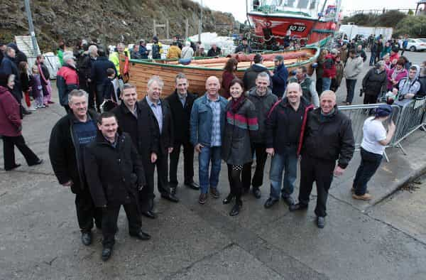 HERITAGE REVIVAL PROJECT LAUNCHES FIRST COMPLETED BOAT