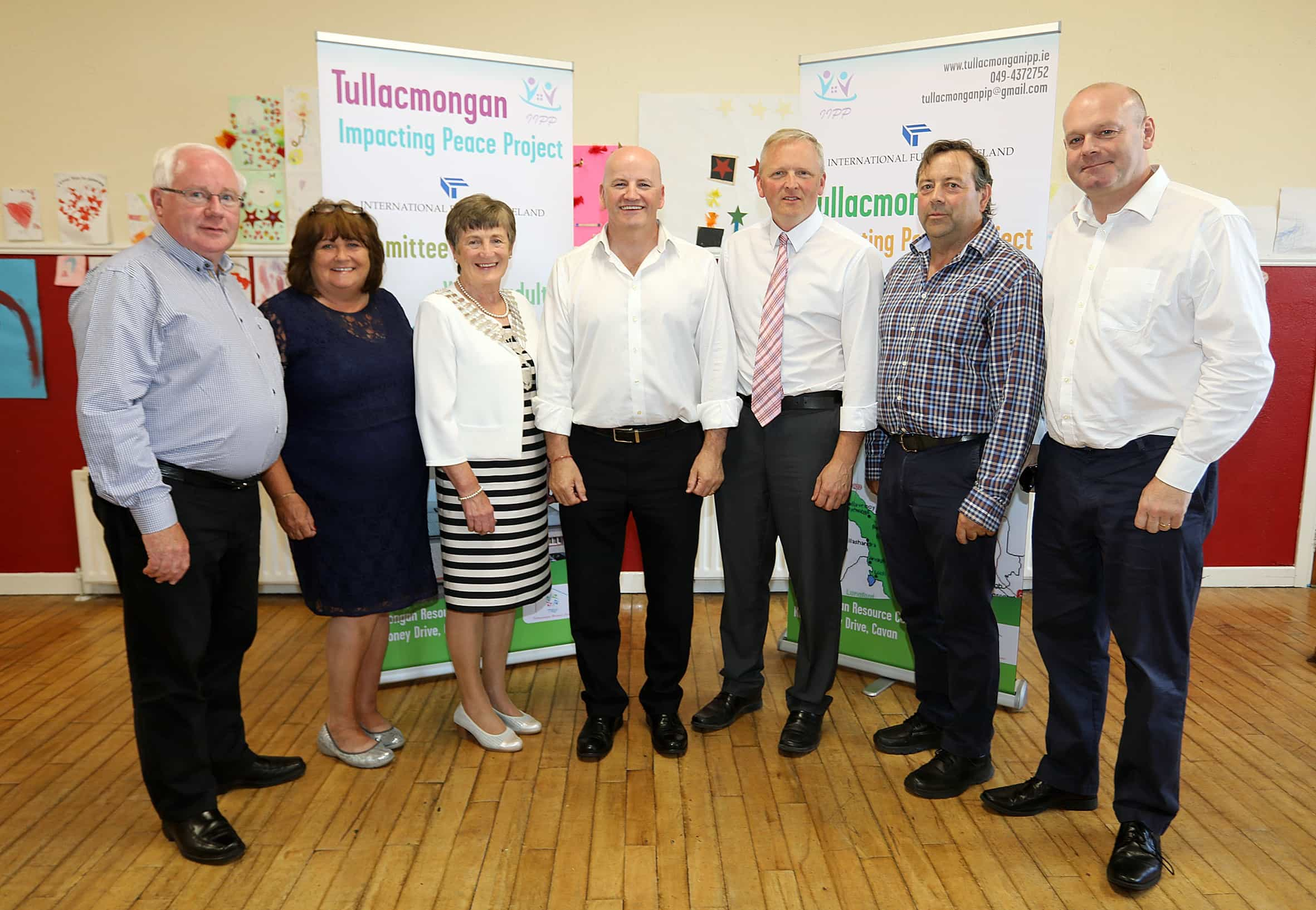 Tullacmongan Impacting Peace Programme (TIPP) officially launched