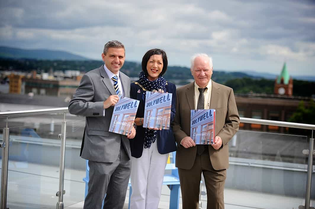 International Fund for Ireland Chairman Officially Opens New DiverseCity Premises