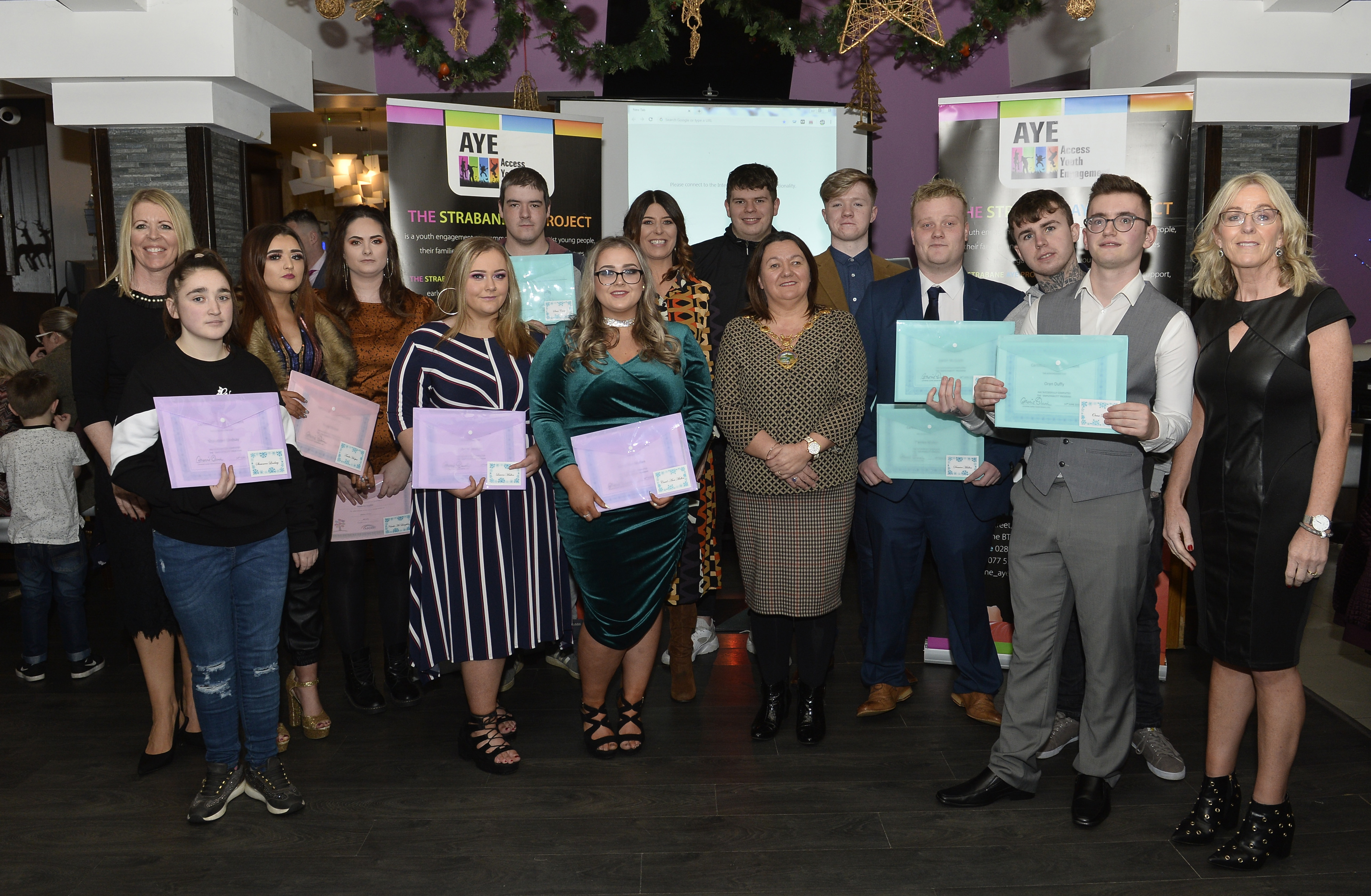 Strabane AYE marks another successful year for its young people