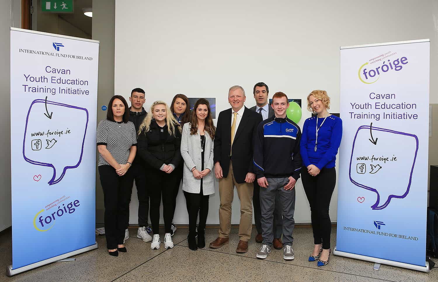 Cavan participants celebrate successful achievements in YETI Personal Youth Development Programme