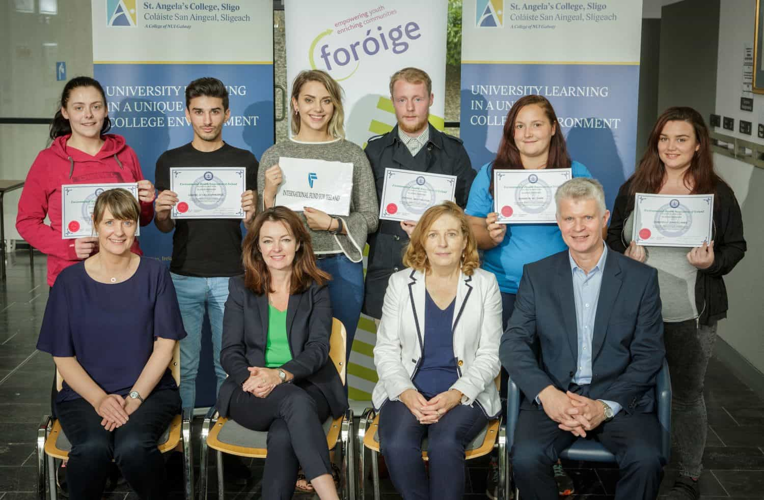 Young people in Sligo say 'YESS' to success