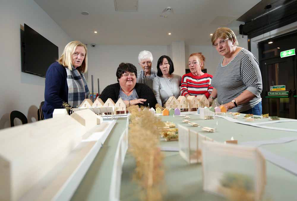 Local women worked with an architect to design an innovative 3D model to look at how the area could be redeveloped in the future.