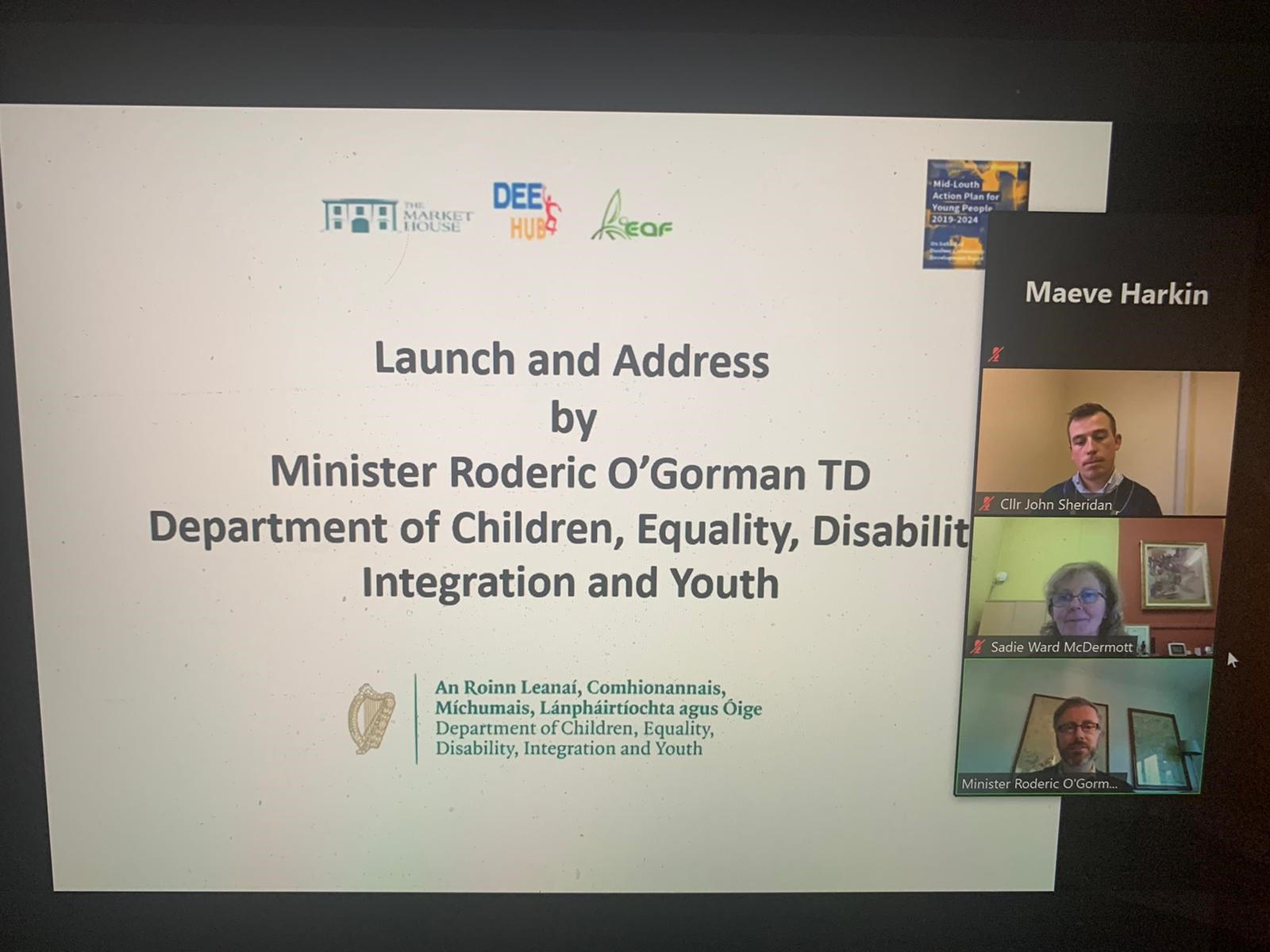 IFI Welcomes Launch of Mid-Louth Action Plan for Young People