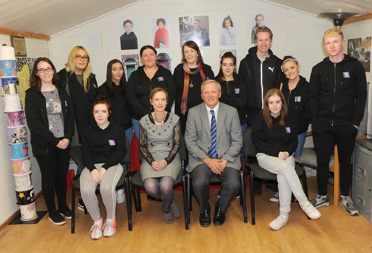 Drogheda participants celebrate successful achievements in  'Footsteps' Personal Youth Development Programme