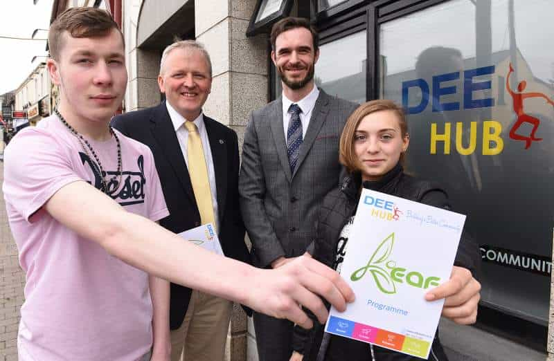 Louth participants celebrate successful achievements in 'New Leaf' Personal Youth Development Programme